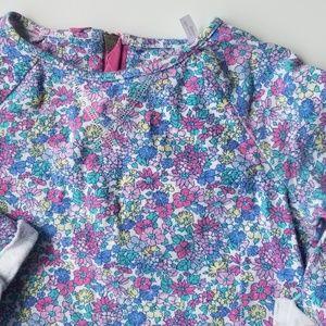 Sweatshirt Jersey floral dress by Joules